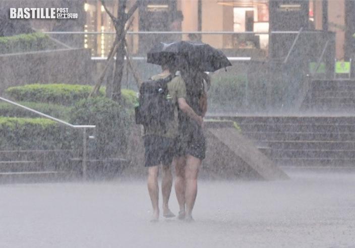 天文台:未來一兩小時香港廣泛地區可能受大雨影響
