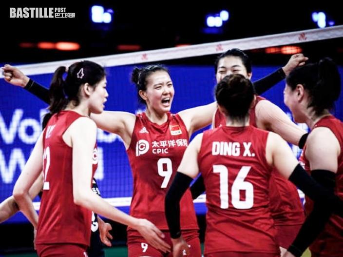 【東京奧運】中國女排出擊 快招撼土耳其