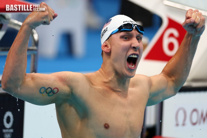 【東京奧運】男子400米個人混合泳 美國包攬頭金銀牌