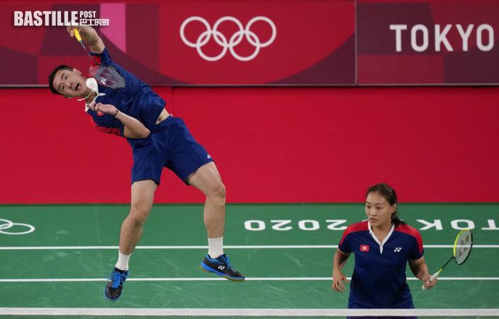 【東京奧運】戰衣被指無印港徽 伍家朗澄清:與贊助商合約完結