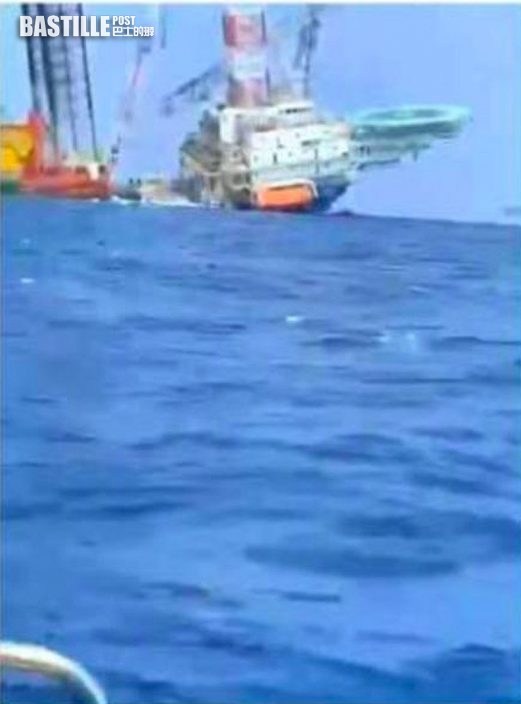 惠州紅海灣船隻翻側 多人墮海