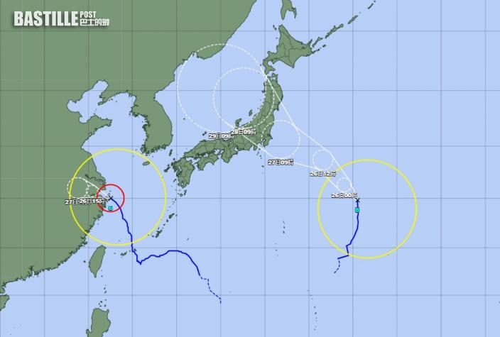 【東京奧運】颱風或穿越日本本州 部分賽事恐受影響