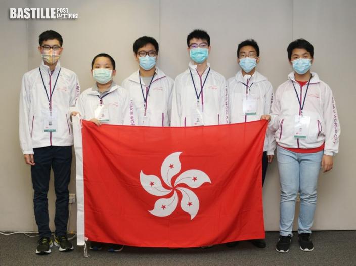 港生國際物理及數學比賽奪十面獎牌 楊潤雄祝賀