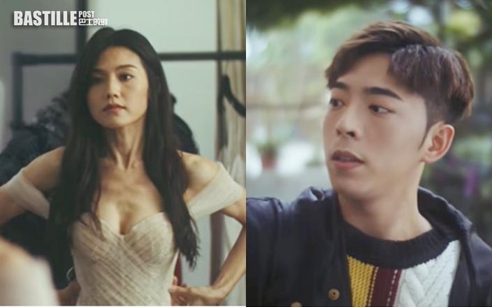 Edan新歌MV點擊超過80萬 周秀娜酥胸半露做女主角