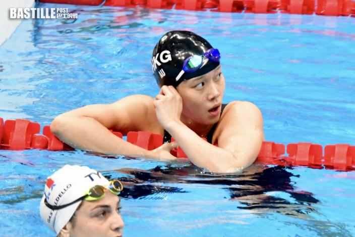 【東京奧運】歐鎧淳1分01秒07完成一百米背泳 期待來年出戰亞運