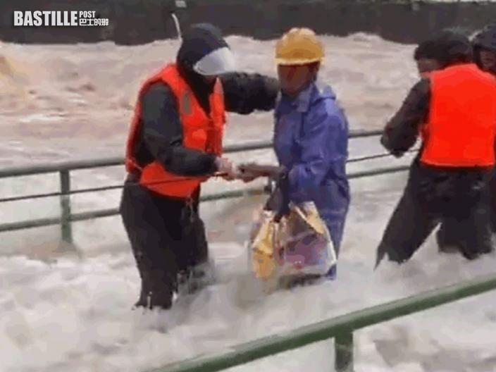 煙花登陸浙江轉移165萬人 啟動自然災害救助IV級應急響應