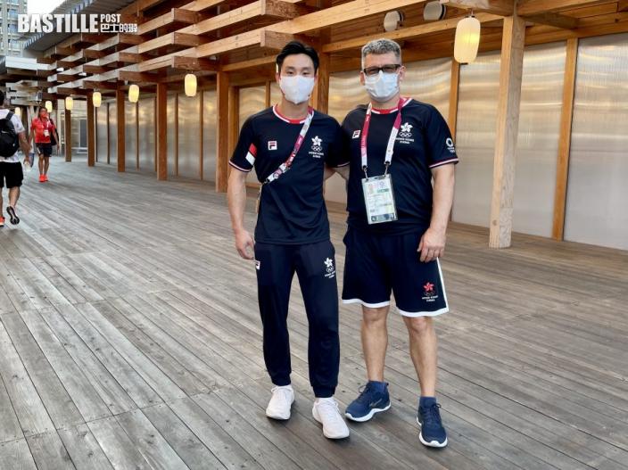 【東京奧運】石偉雄未言退  誓言巴黎捲士重來