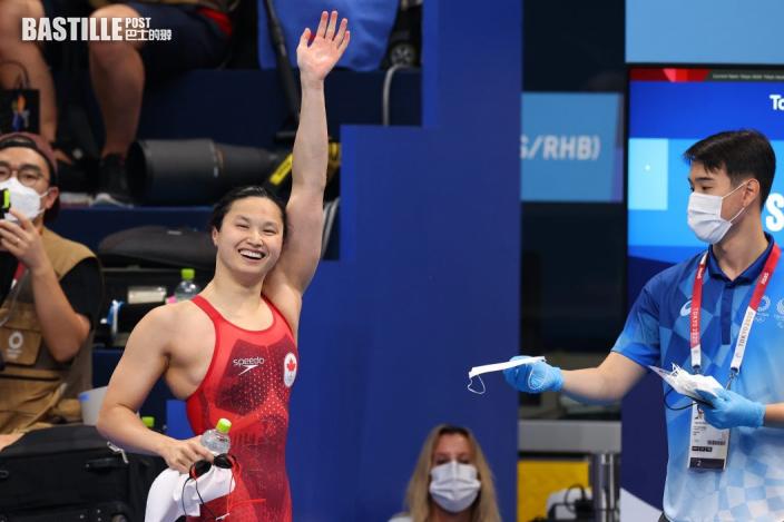 【東京奧運】女子100米蝶泳 麥妮爾奪金張雨霏第二