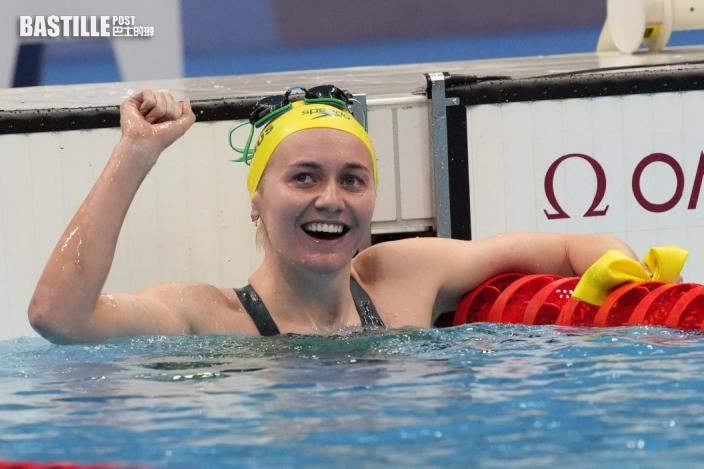 【東京奧運】女子400米自由式 泰梅絲力壓莉迪絲姬奪金