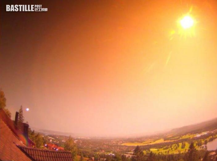 巨大流星劃破挪威夜空宛如白晝 目擊者:空氣都在震動