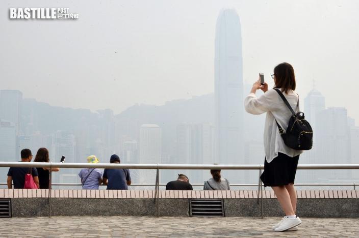 3區空氣污染達高至甚高