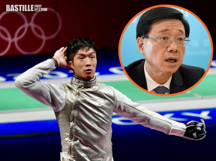 【東京奧運】男子花劍張家朗首次入四強 李家超籲市民一同打氣