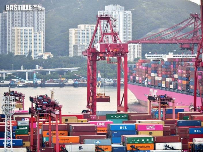 港6月出口按年升33% 進口同增長31%