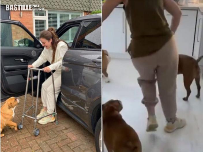 英國34歲女子接種後雙腳失控抽搐無法正常行走