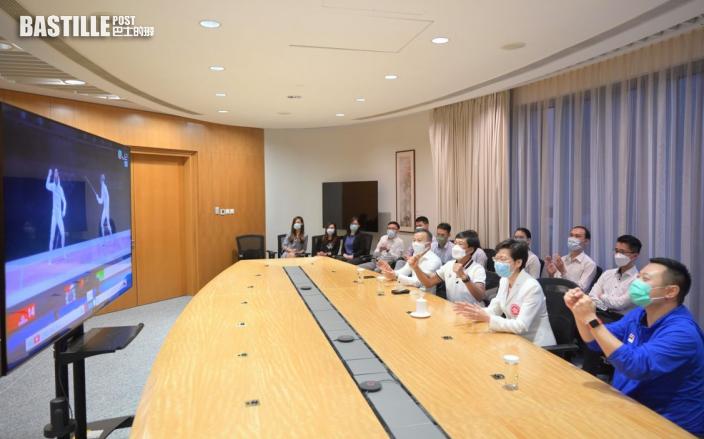 【東京奧運】特首籲市民放低工作 睇張家朗爭金直播
