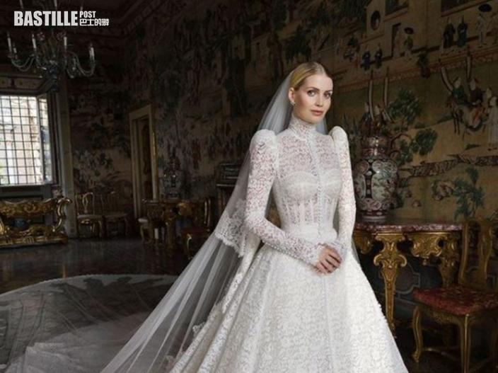 戴妃30歲姪女意大利出閣 下嫁62歲南非億萬富豪
