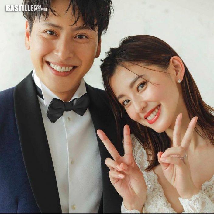秘密拍拖兩年 日模朝比奈彩與山下健二郎宣布結婚