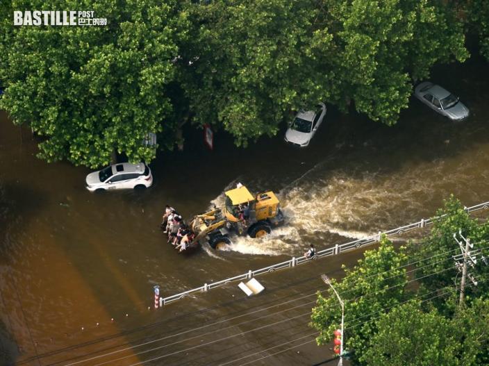 河南持續暴雨 中央撥數十億賑災