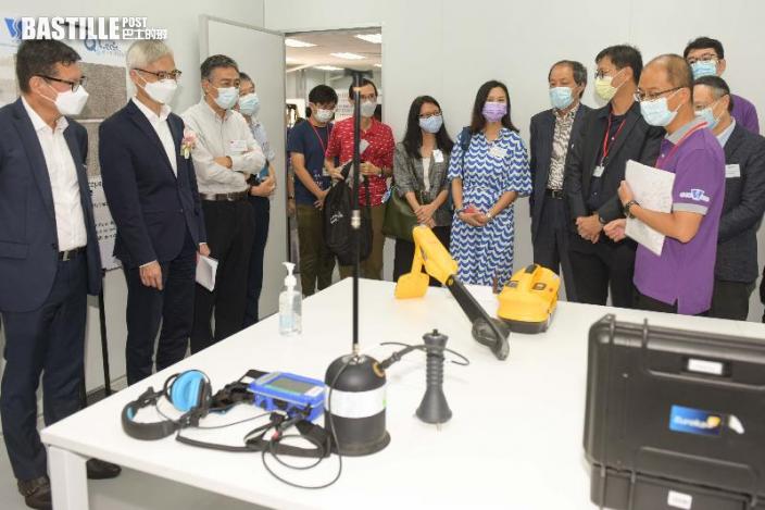 地下水管測漏中心模擬區域培訓技術