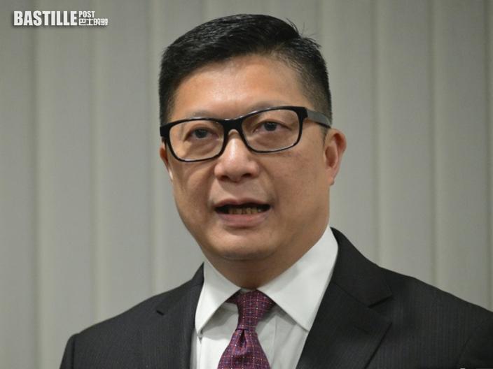 鄧炳強:危害國安空間愈來愈小