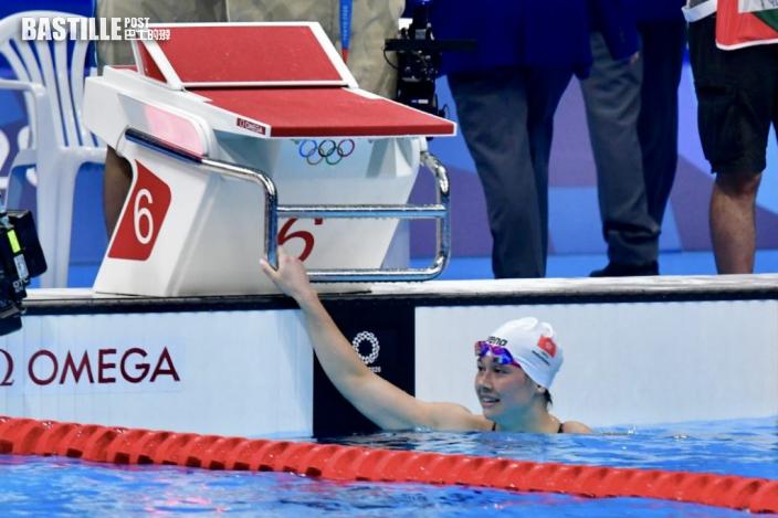 【東奧游泳】何詩蓓1分55秒16完二百米捷泳準決賽 破天荒殺入奧運決賽