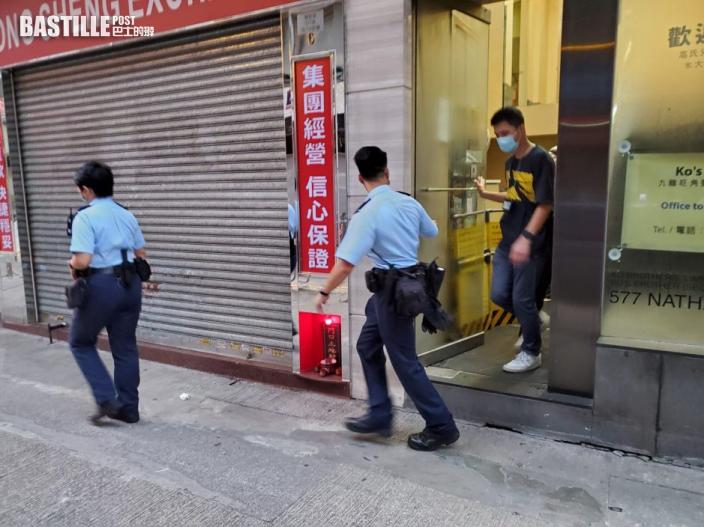 男子油麻地商廈外徘徊圖不軌 醒目保安報警