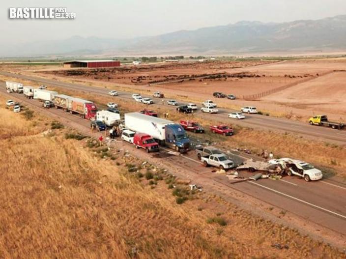 美國猶他州發生22車相撞事故 至少8人喪生
