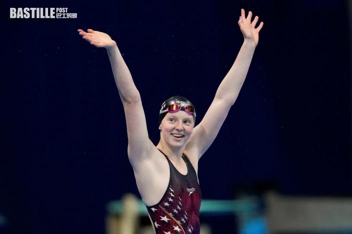 【東京奧運】女子100米蛙泳決賽 十七歲積歌比奪金