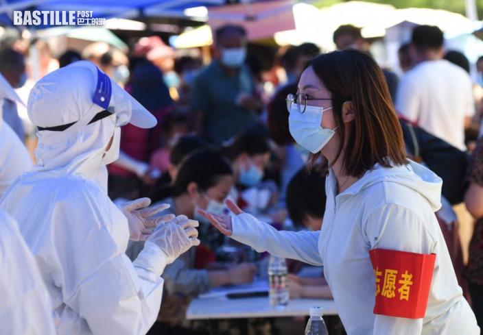 內地新增31宗本土確診個案 均在江蘇南京