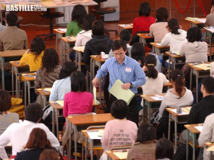 教師基準試英文科報告發表 建議考生回答寫作卷時須校對