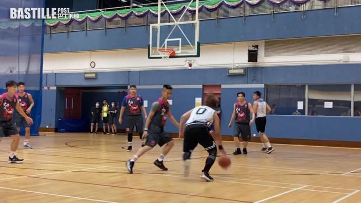【大隻姜】打籃球罕晒Firm爆手臂    姜濤玩業餘比賽一場射入8分