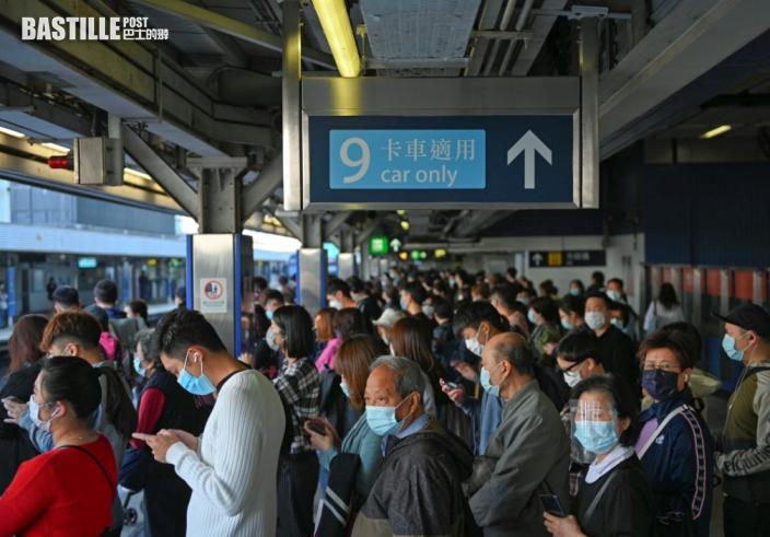 上水站附近有信號故障 東鐵綫服務一度受影響
