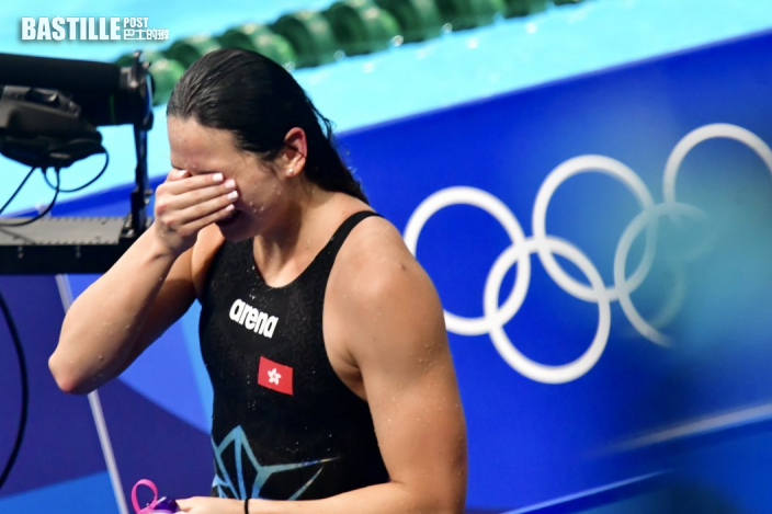 【東奧游泳】何詩蓓奪牌灑淚 盼獎牌激勵香港運動員振作