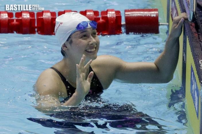 【東京奧運】23歲「女飛魚」何詩蓓6歲受練 DSE35分赴美讀心理學