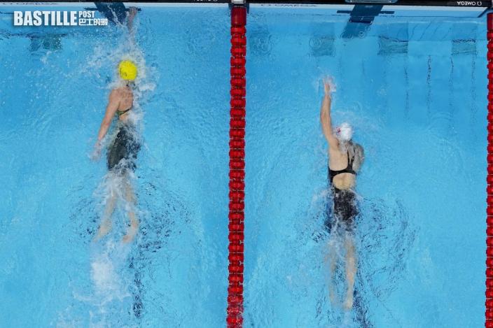 【東奧游泳】何詩蓓奪牌出席記者會 苦盡甘來特別開心
