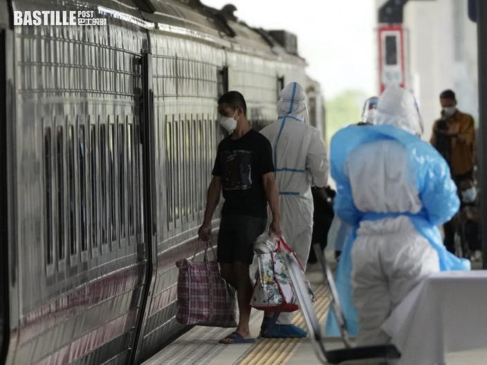 泰國改裝舊火車卡為隔離病房 遣送輕患者回鄉治療