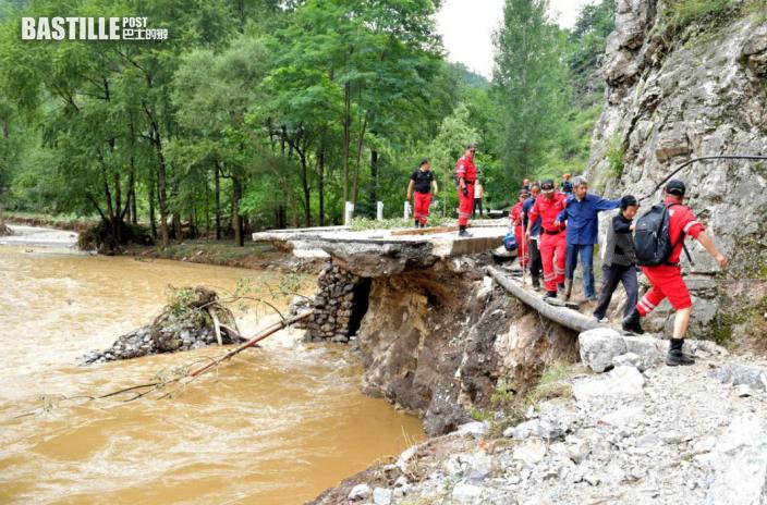 內地7月17日以來洪災已致96人死亡失蹤
