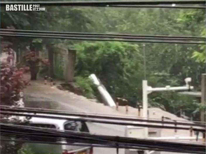 北京暴雨山泥傾瀉衝進老年公寓 至少2死3失蹤