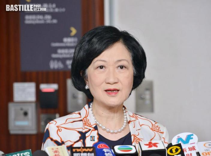 葉劉淑儀:港人作為中國一部份 只要努力可登頂