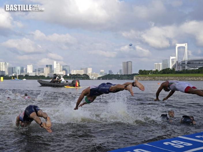 【東京奧運】三項鐵人賽傳有選手泳後嘔吐 東京灣水質受質疑