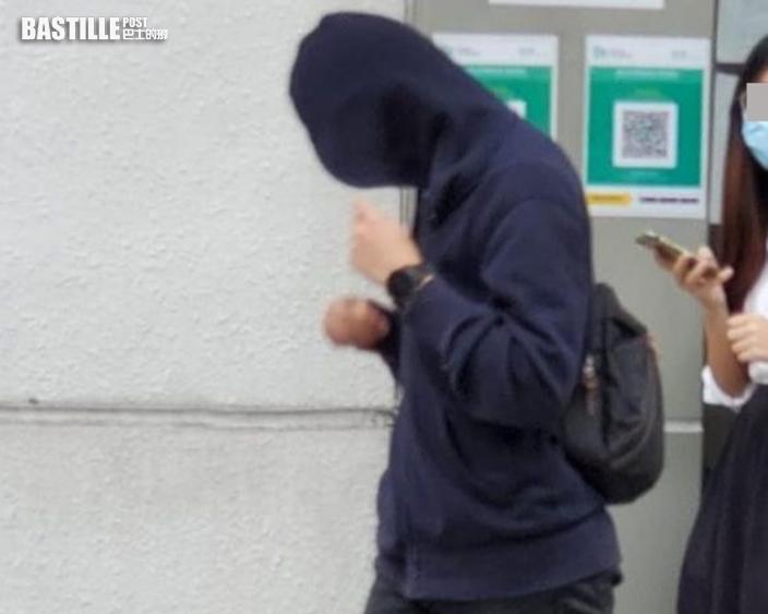 助理工程師藍光電筒射警認非法集結 囚4個月2星期