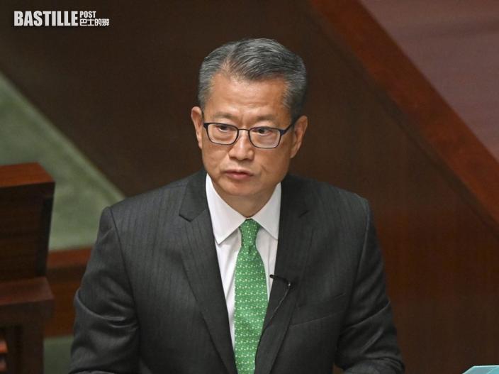 陳茂波傍晚6時就引用《公司條例》委任審查員見傳媒