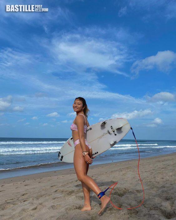 衝浪美少女意外錯過東奧   松田詩野泳衣照引9萬人Follow