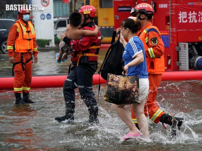 河南暴雨導致1,300萬人受災 73人遇難