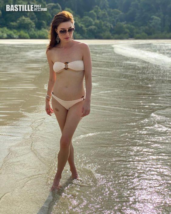 單親媽獨力照顧子女 名模Danielle保持fit爆身材