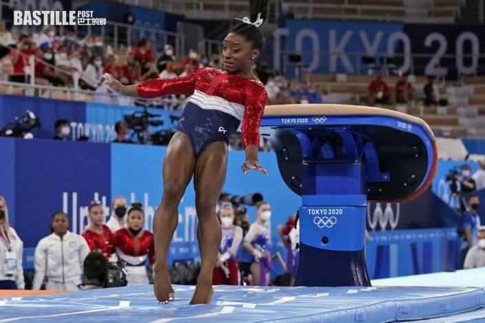 【東奧體操】比莉絲壓力爆煲  再退個人全能賽