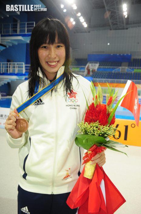 【東奧游泳】何詩蓓勇奪奧運獎牌 劉彥恩盼激勵後輩努力練習