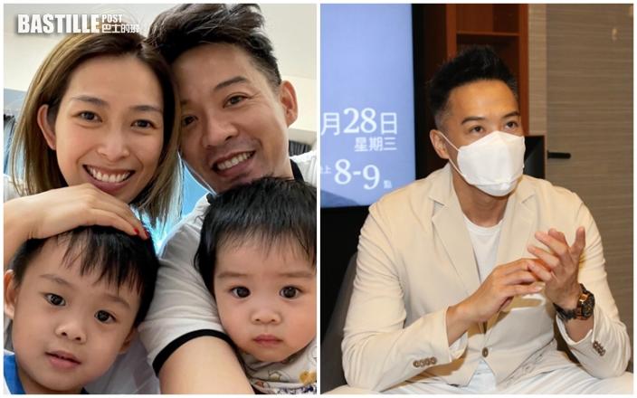 陳智燊發掘兒子的運動興趣 期待兩兄弟齊齊踢波