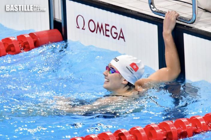 【東京奧運】港隊戰況一覽 何詩蓓爭入100米自由泳決賽