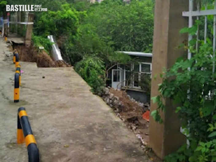 北京香山道路護坡坍塌 致老年院5人遇難